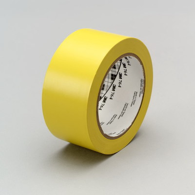 "3M 764-3""X36YD-YELLOW 3M 764-3INX36YD-YELLOW Tape; 36 yard x 3 Inch, Vinyl Tape/PVC Backing/Rubber Adhesive, Yellow"