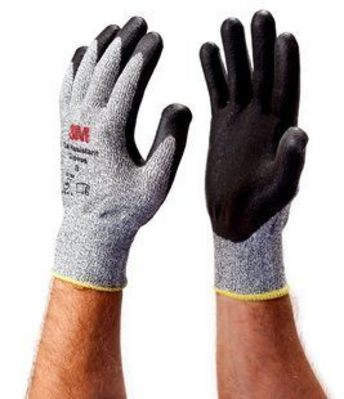 3M CGXL-CR 3M CGXL-CR Comfort Grip Gloves; Size 10/X-Large, Gray/Black
