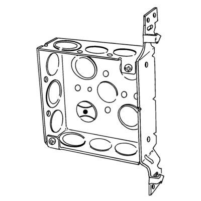 Appleton 4SAB-EK 4SAB-EK EGS 4 IN SQ OUTL BOX W/AB B