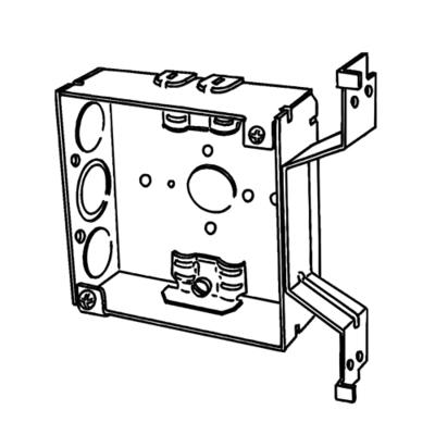 Appleton 4SROB-EK 4SROB-EK EGS BOX 4 IN SQ 1-1/2 DEEP CL26 OFFSET BRCKT