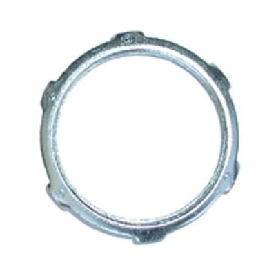 Bridgeport 107-S Bridgeport 107-S Conduit Locknut, 2-1/2 inch, Steel, Zinc Electroplated