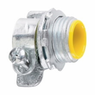 Cooper Crouse-Hinds 1714 Midwest 1714 2 1/2 In Flexible Metallic Malleable Iron Straight Conduit Connector