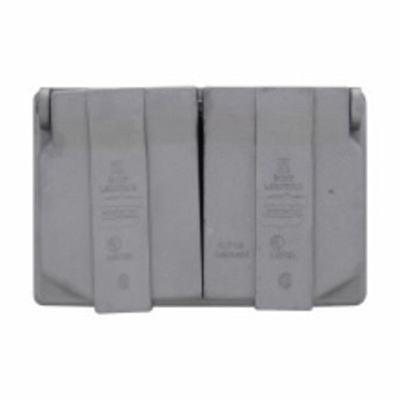 Cooper Crouse-Hinds WLRD1 Crouse-Hinds WLRD1 CRS-H WET Duplex SPDR Cover W/GAS