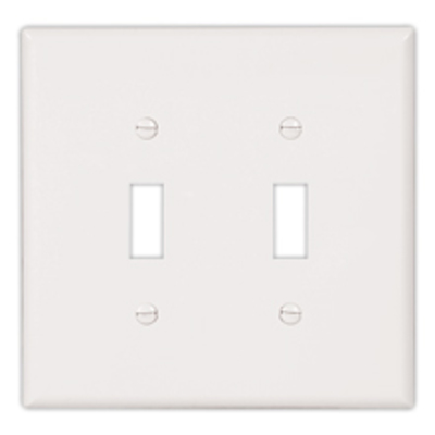 Cooper Wiring Devices 2149V-BOX 2149V-BOX COOPER WALLPLATE 2G TOG THERMOSET OVR IV