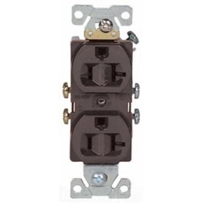 Cooper Wiring Devices 877B-BOX 877B-BOX COOPER RECP DUPLEX 20A 125V 2P3W STR SWIRE BR