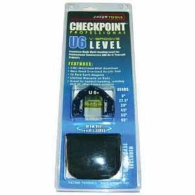 Dottie Co L.h. CPT0610B L.H. Dottie CPT0610B Check Point™ U6 V-Groove Multi-Reading Level; 6061-T6 Aluminum Alloy Billet