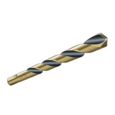 Dottie Co L.h. HS5C L.H. Dottie HS5C HSS 3-Flat Shank Split Point Jobber Length Drill Bit; 5/64 Inch, 2 Inch OAL, Black and Gold Oxide, Carded