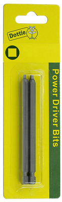 Dottie Co L.h. IB36C L.H. Dottie IB36C Power Bit, #3 tip size, Square tip type, 6 in. overall length, 2 pieces, #12-14 screw size