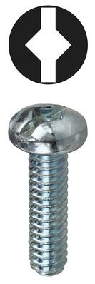 Dottie Co L.h. RMDS10321 RMDS10321 DOTTIE 10-32 X 1 ROUND HEAD SQUARE/SLOTTED MACHINE ZINC