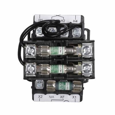 Eaton / Cutler Hammer C341EC Cutler Hammer C341EC Control Transformer Kit, With Transformer/Fuse Clip Mounting & Fuse Clip, 240/480 V Primary, 110/120 V Secondary, 200 VA, 1-Phase