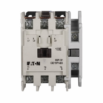 Eaton / Cutler Hammer CE15FN3TB77 CE15FN3TB77 EATON IEC OPEN 3P CONT SZ F 24V COIL FOR U.K.
