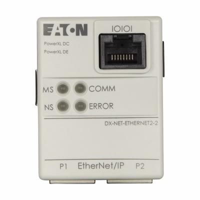 Eaton / Cutler Hammer DX-NET-ETHERNET2-2 DX-NET-ETHERNET2-2 EATON ETHERNET IP PLUG-IN MODULE FOR DC1/DE1