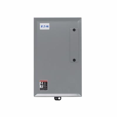 Eaton / Cutler Hammer ECC03C1A2A Eaton ECC03C1A2A 30 Amp, 2-Pole, Enclosed, Electrically Held, 600 Volt, Lighting Contactor