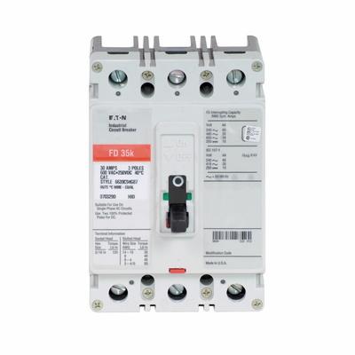 Eaton / Cutler Hammer FD3110VH09 FD3110VH09 EATON FD 3P 110A 50 DEGREE NAVAL APPLICATION