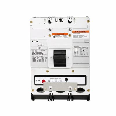 Eaton / Cutler Hammer LG3500A12S03 LG3500A12S03 EATON LG 500 AMP BRKR W/ETU & FIX RATING PLUG