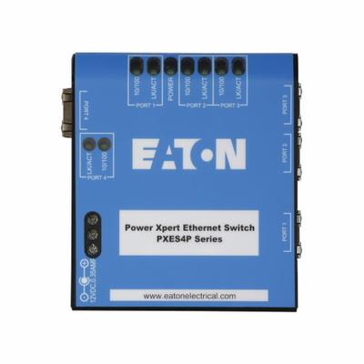 Eaton / Cutler Hammer PXES6P24V Eaton / Cutler Hammer PXES6P24V Unmanaged Ethernet Switch; 6-Port, DIN Rail/19 Inch Standard Rack Mount