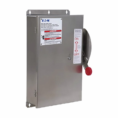 Eaton / Cutler Hammer STS363FD3 STS363FD3 EATON SHUNTTRIP SAFE SWTCH,3P,600V,100A,FUSIBL