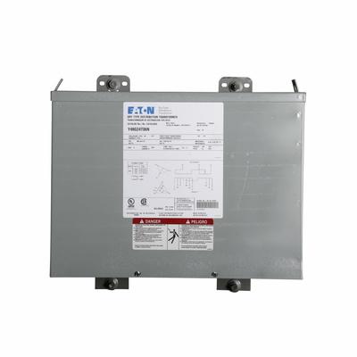 Eaton / Cutler Hammer Y48G24E06A Y48G24E06A EATON 6 KVA TYPE EPT TRANSFORMER 3PH 480V