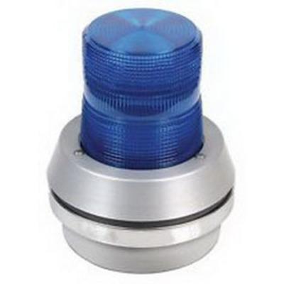 Edwards 101STB-N5 Edwards 101STB-N5 Stacklight Strobe Module; 120 Volt AC, 0.12 Amp, 6.750 Inch Width x 7-1/8 Inch Height, Blue Lens, 65 Flashes per min
