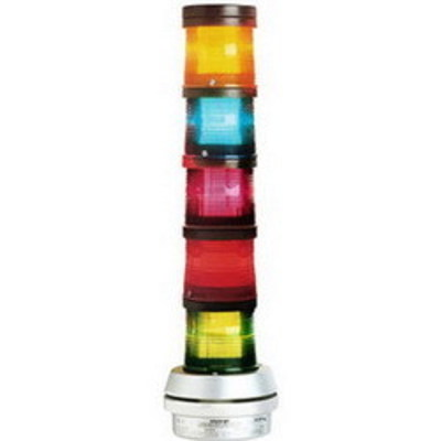 Edwards 101XBRMB120A Edwards 101XBRMB120A Multi-Mode XBR LED Flashing Beacon; 120 Volt AC, 0.108 Amp, 6.750 Inch Width x 7-1/8 Inch Height, Blue Lens, 65 Flashes per min