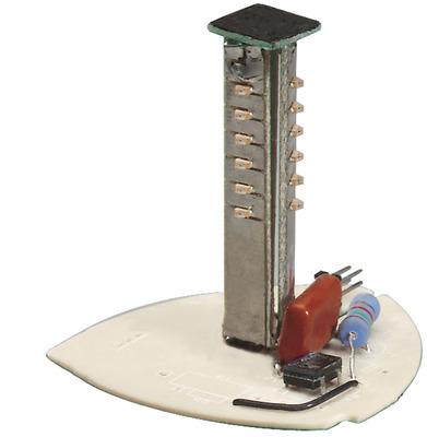 Edwards 102LS-SLEDW-G1 Edwards 102LS-SLEDW-G1 StackLight™ Steady-On LED Light Source; 0.062 Amp, 24 Volt DC, White, Panel/Conduit Mount