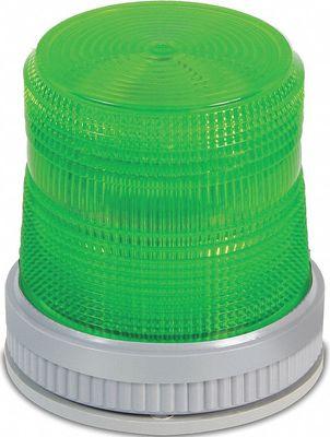 Edwards 105XBRMG24D Edwards 105XBRMG24D Beacon Flashing Light, 120 VAC, 0.215 A, Green