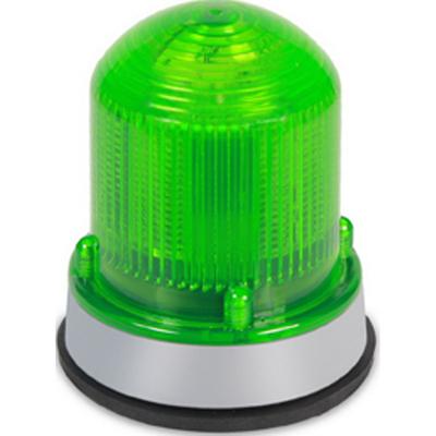 Edwards 125XBRMG120AB Edwards 125XBRMG120AB XBR XTRA-BRITE™ 125 Class Steady-On LED Beacon; 0.108 Amp, 120 Volt AC, Green, Panel/Conduit Mount