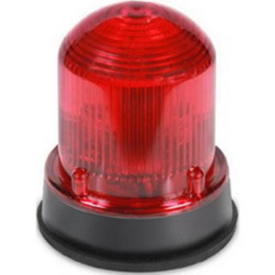 Edwards 125XBRZR120A Edwards 125XBRZR120A XBR XTRA-BRITE™ 125 Class Steady-On/Lightburst LED Beacon; 0.108 Amp, 120 Volt AC, Red, Panel/Conduit Mount