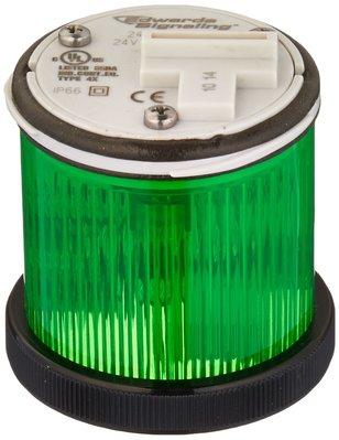 Edwards 248LEDMG24ADB Edwards 248LEDMG24ADB Multi-Mode LED Stack Light, 24 VAC/DC, 0.030 A, Green, 48 mm