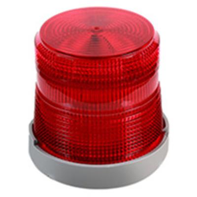 Edwards 48FINR-G1-20WH Edwards 48FINR-G1-20WH Beacon Halogen Light, 24 VDC, 65 fpm Flash, Red
