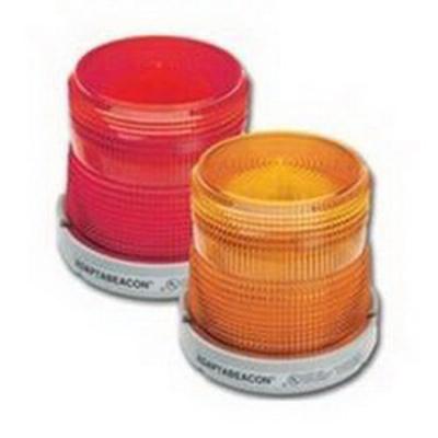 Edwards 48XBRMW24D Edwards 48XBRMW24D XTRA-BRITE™ LED Dual-Status Beacon; 120 Volt AC, 0.215 Amp, Red, Green, Amber, Blue, White, Panel, Conduit Mount