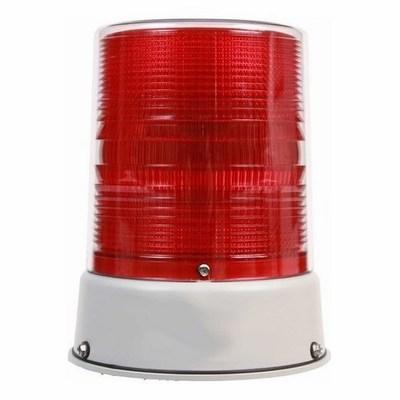 Edwards 57EDFR-N5 Edwards 57EDFR-N5 57EDF Series Heavy Duty Double Flash Xenon Strobe Light; 120 Volt AC, 0.2 Amp, Red, 3/4 Inch Conduit Mount