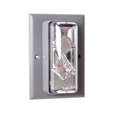 Edwards 89STRC-AQ Edwards 89STRC-AQ Flush Mount Indoor Strobe Light, 24 VAC/DC, 50/60 Hz, 0.390 A, Clear Lens, Thermoplastic