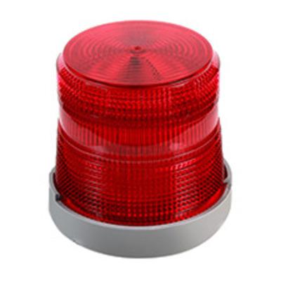 Edwards 98BR-G1 Edwards 98BR-G1 Light Duty Flashing Xenon Beacon Strobe Light; 24 Volt DC, 0.3 Amp, Red