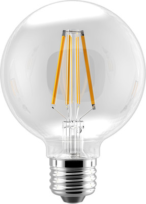 Eiko LED6WG25/FIL/827K-DIM-G6 LED6WG25/FIL/827K-DIM-G6 EIKO 2700K LED ADVANTAGE FILAMENT G25 320 DEG 5.5W-400LM DIMMABLE 80CRI 2700K E26 120VAC