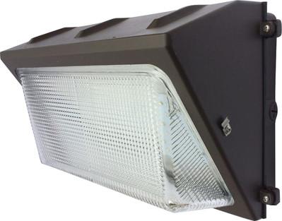 Eiko WMG-2C-40K-U WMG-2C-40K-U EIKO LED GLASS WALLPACK DLC V4.0 STANDARD 50W-5800LM 4000K BRONZE 100-277V