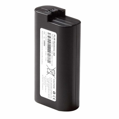 FLIR T197752 FLIR T197752 Rechargeable Rectangular 2 Cells Lithium-Ion Battery; 3.1 Inch Length x 1.6 Inch Width x 0.9 Inch Height, For E Series and E-Series BX Thermal Imagers