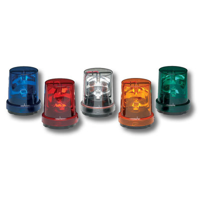 Federal Signal 121S-120C 121S-120C FED-SIG ROT LIGHT 120VAC SURFACE OR PIPE MT CLR