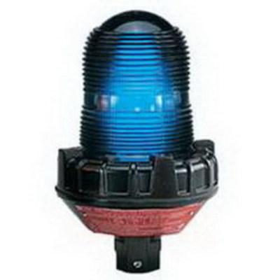 Federal Signal 191XL-120-240B Federal Signal 191XL-120-240B Flashing LED Warning Light; 0.21/0.13 Amp, 120/240 Volt AC, Blue, 3/4 Inch NPT Pipe Mount