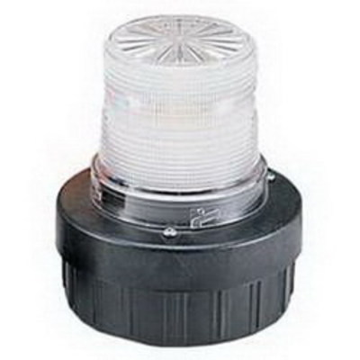 Federal Signal AV1-LED-120C Federal Signal AV1-LED-120C Flashing Combination Audible/Visual LED Signal; 0.03 Amp, 120 Volt AC, Clear, 1/2 Inch NPT Pipe/4 Inch Surface Mount