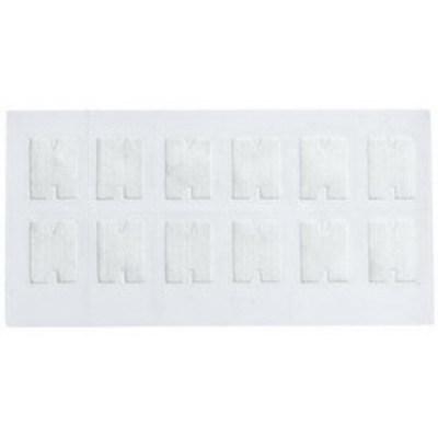 Fluke NFC-CARDS-5PK Fluke NFC-CARDS-5PK Fiber Optic Cleaning Cards; Polyester, 5/Pack