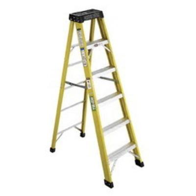 Green Bull Ladders 202210 Green Bull Inc 202210 2022 Series Type IA Step Ladder; 10 ft, 300 lb, Fiberglass