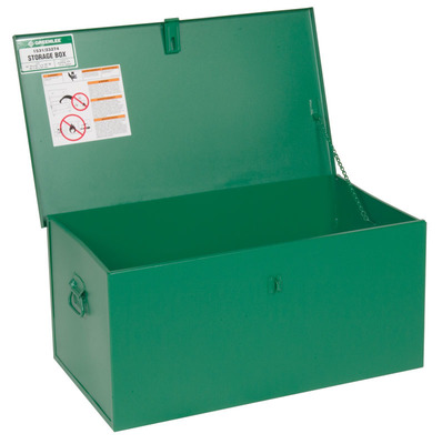 Greenlee 1531 Greenlee 1531 Welders Box Assembly; 31.000 Overall Width x 18.000 Overall Depth x 15.000 Overall Height, 4.800 Cubic-ft, Green