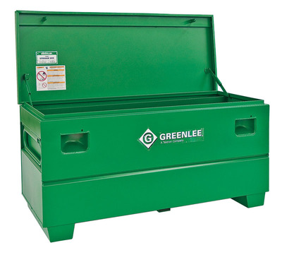 Greenlee 2460X Greenlee 2460X Storage Chest Assembly Without Tray; 20 Cubic-ft Storage, 60 Inch Width x 24 Inch Depth x 25 Inch Height, Steel, Green