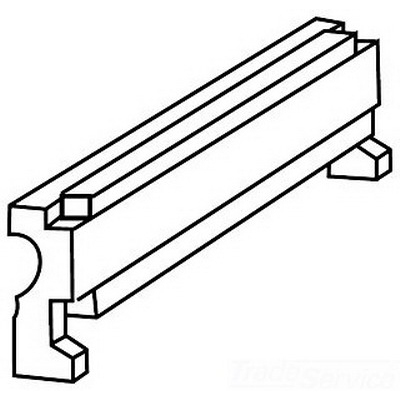 Greenlee 35400 Greenlee 35400 90 Degree Follow Bar Assembly; 3 Inch