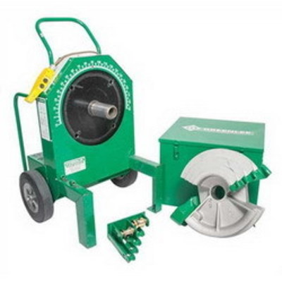 Greenlee 555RSC Greenlee 555RSC 555 Classic Electrical Bender with Single Rigid Shoe; 1/2-2 Inch Conduit