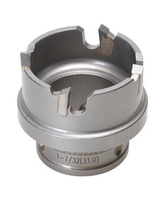 Greenlee 645-1-7/32 Greenlee 645-1-7/32 Kwik Change™ Hole Cutter; 1-7/32 Inch x 3/8 Inch Chuck, Carbide Tipped