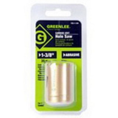 Greenlee 725-1-3/8 Greenlee 725-1-3/8 Hole Saw; 1-3/8 Inch, Tungsten Carbide Grit