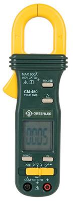 Greenlee CM-450 Greenlee CM-450 True RMS AC Clamp Meter; 40/400/600 Amp AC