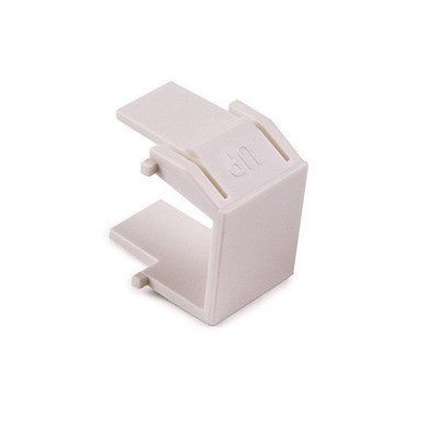 Hellermann Tyton BLANK-FW Hellermann Tyton BLANK-FW Reversible Blank Module; ABS, Off White